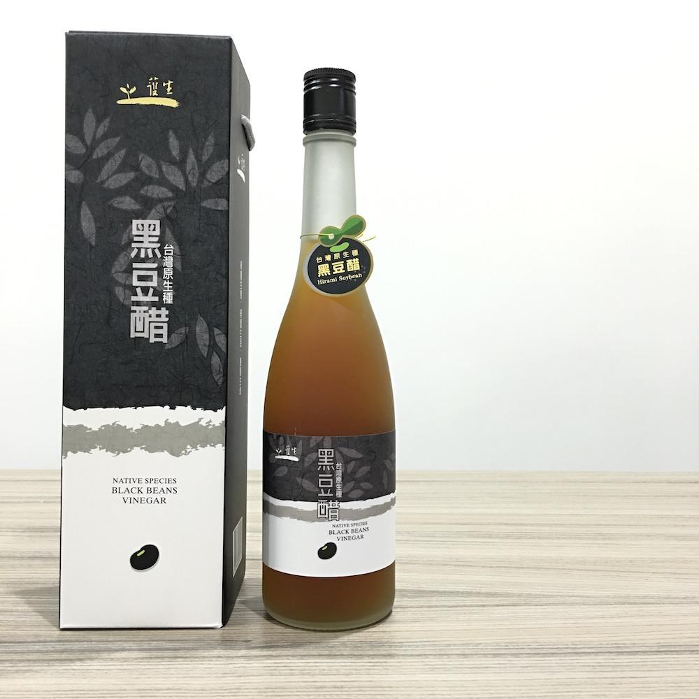 護生 台灣原生種黑豆醋 500ml/瓶