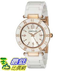 104美國直購Anne Klein Women s 109416RGWT Swarovski Crystal-Accented Watch女士手錶