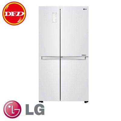 樂金 LG GR-DL80W WiFi門中門對開冰箱 活動式層架設計 晶鑽白 830公升 GRDL80W ※運費另計(需加購)