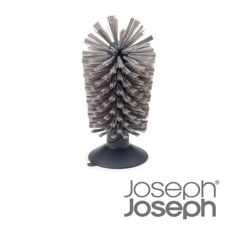 《Joseph Joseph英國創意餐廚》杯壺清潔刷立座(灰)