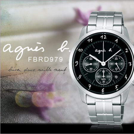 agnes b.法國簡約時尚錶FBRD979 agnes b.現排單熱賣中