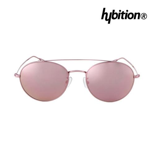 Hybition X Minorterm聯名款Steel Pink粉紅色鏡框粉紅色鏡面鏡片附義大利真皮包袋