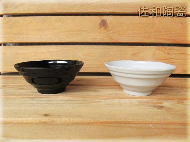 ~佐和陶瓷餐具~【05B123085黑色3085日式波紋碗】/ 湯碗 麵碗 飯碗 /
