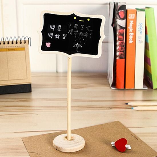 MY COLOR創意告示牌黑板記事備忘錄提醒迷你兒童書寫擺飾道具拍照文具G21-1