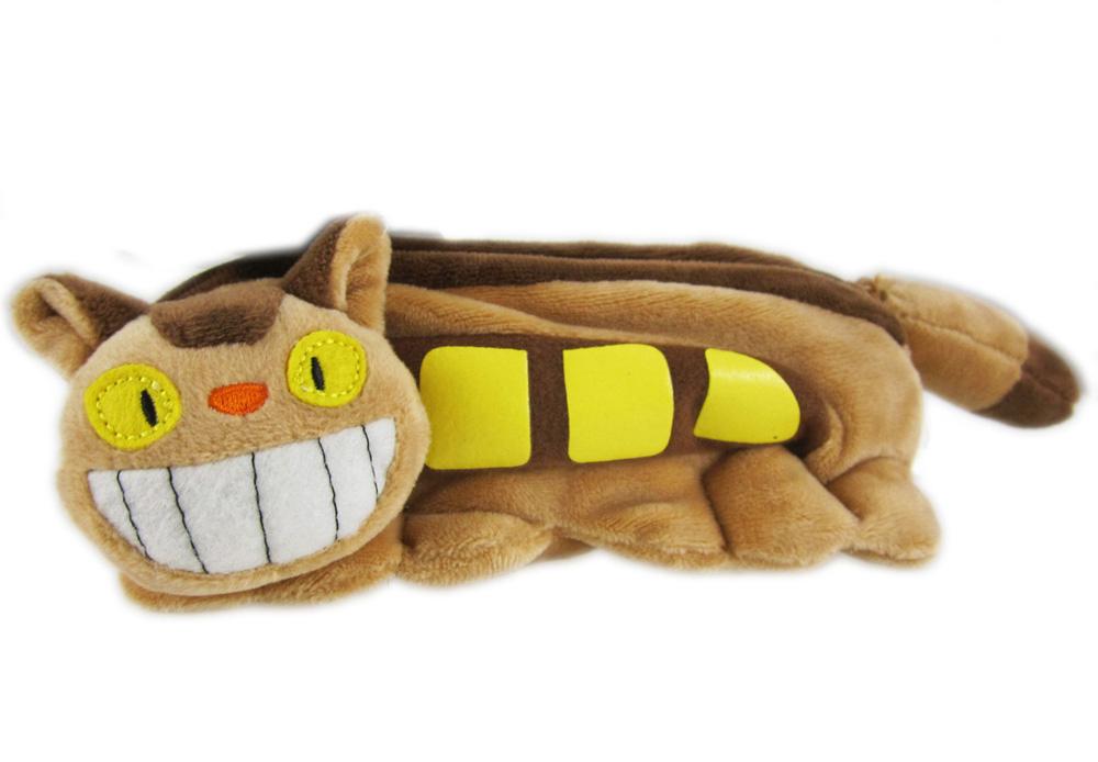 【卡漫城】 Totoro 龍貓 公車 巴士 化妝包 絨毛 筆袋 小物收納袋 萬用包 鉛筆袋 貓巴士