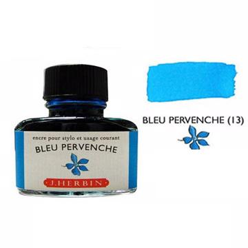 J. Herbin珍珠彩墨長春花藍 Bleu Pervenche