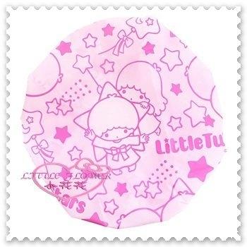 小花花日本精品雙子星kikilala浴帽星星氣球霧面滿版圖粉藍兩款34082300