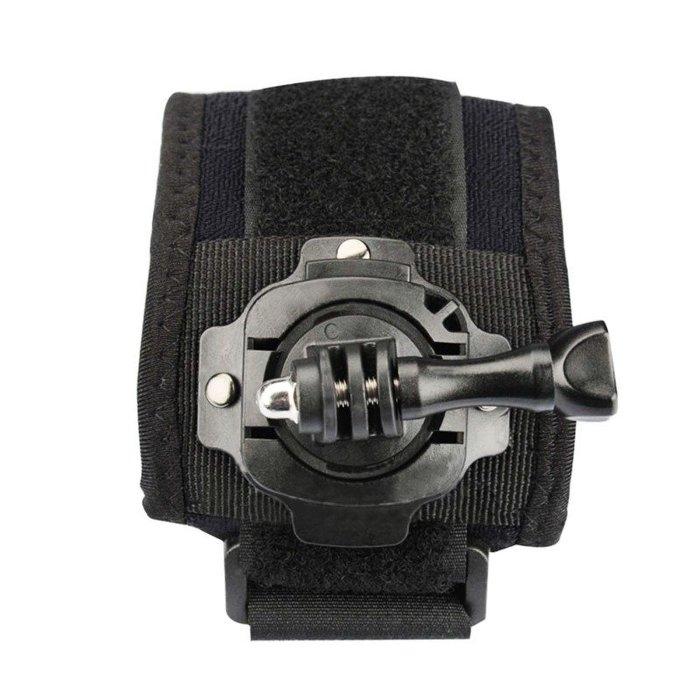 黑熊館 ROWA 唯卓 Gopro 360度旋轉手腕帶 適用 HERO 3 4 5 小蟻 極限運動 運動攝影