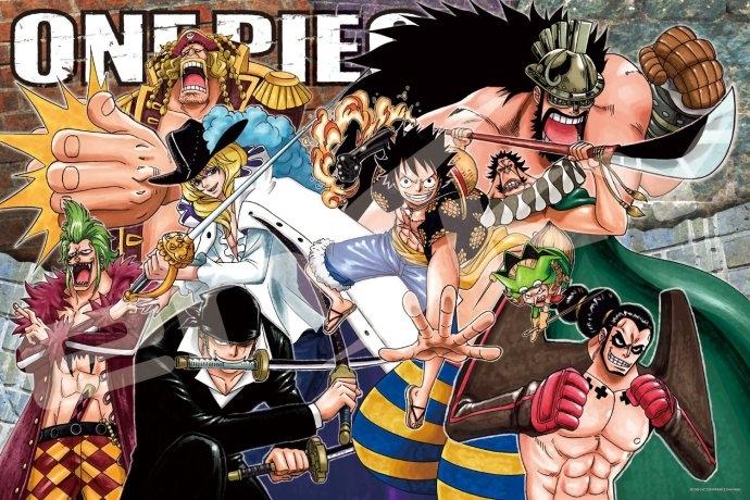 拼圖總動員PUZZLE STORY草帽小子海賊團聯軍日系Ensky海賊王One Piece 1000P