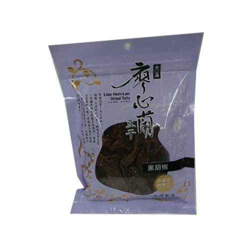 TW廖心蘭黑胡椒豆干110g【愛買】