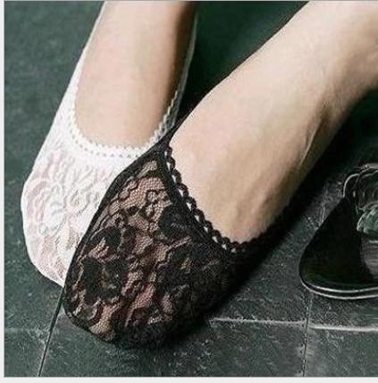 秋奇啊喀3C配件-88春秋單鞋時尚蕾絲花邊船襪/隱形襪春夏淺口薄款短襪