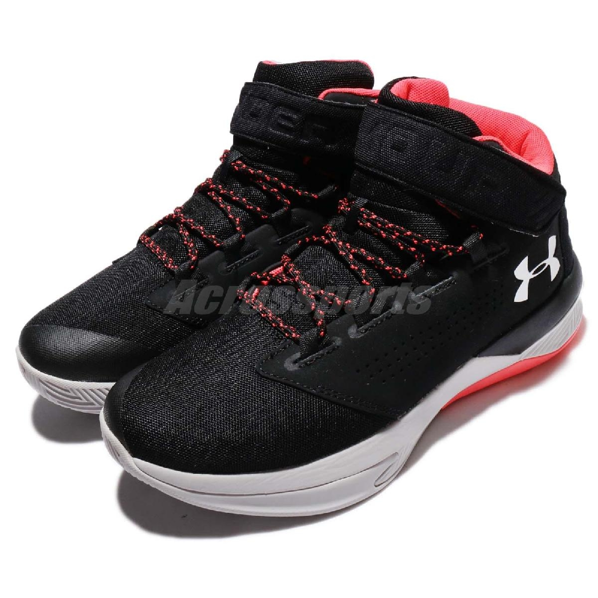 Under Armour籃球鞋UA Get B Zee黑灰運動鞋舒適腳感緩震彈力男鞋PUMP306 1298310001