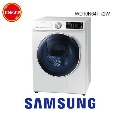 (含都會區精緻裝運)三星 洗衣機 WD10N 潔徑門 10KG 洗脫烘 滾筒式 限時送Tab A 8.0 WD10N64FR2W