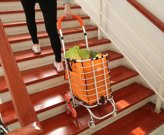 購物車爬樓折疊買菜可折疊手推車