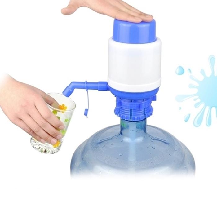 拉拉百貨手動壓水器露營野餐礦泉飲水機水龍頭按壓抽水器手壓吸水器壓按式
