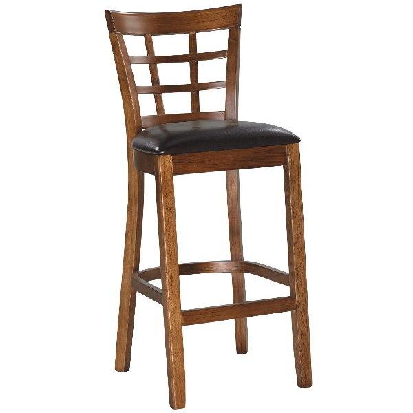 吧檯椅FB-363-3仿古色高吧椅大眾家居舘