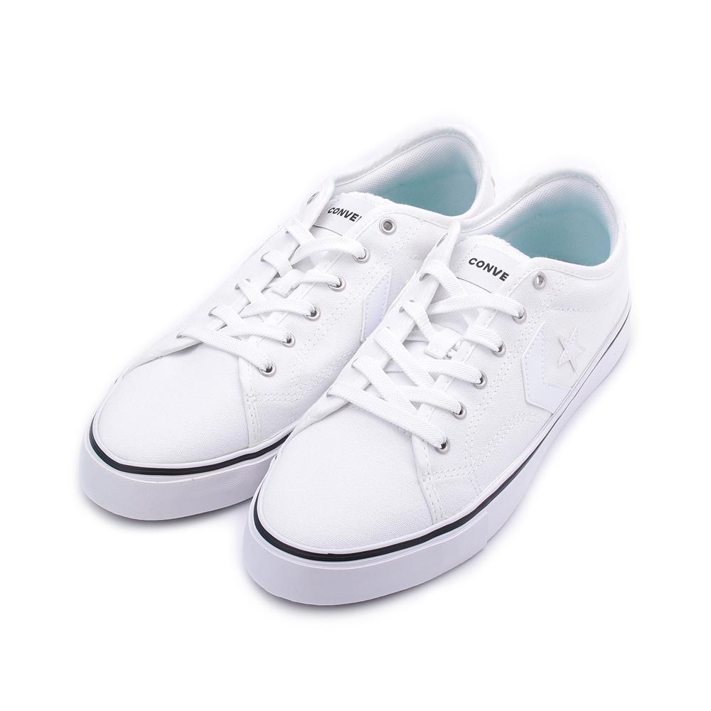 CONVERSE STAR REPLAY 低筒帆布鞋 全白 163213C 男鞋 鞋全家福