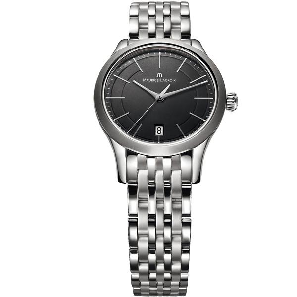【僾瑪精品】Maurice Lacroix 艾美錶簡約 典雅系列 簡約都會女用腕錶-黑/33mm/LC1026-SS002-330