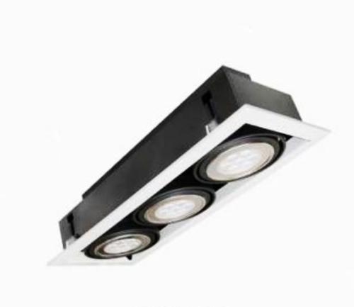 燈王的店AR111 LED 7W x 3嵌燈白光黃光內附驅動器TYL16