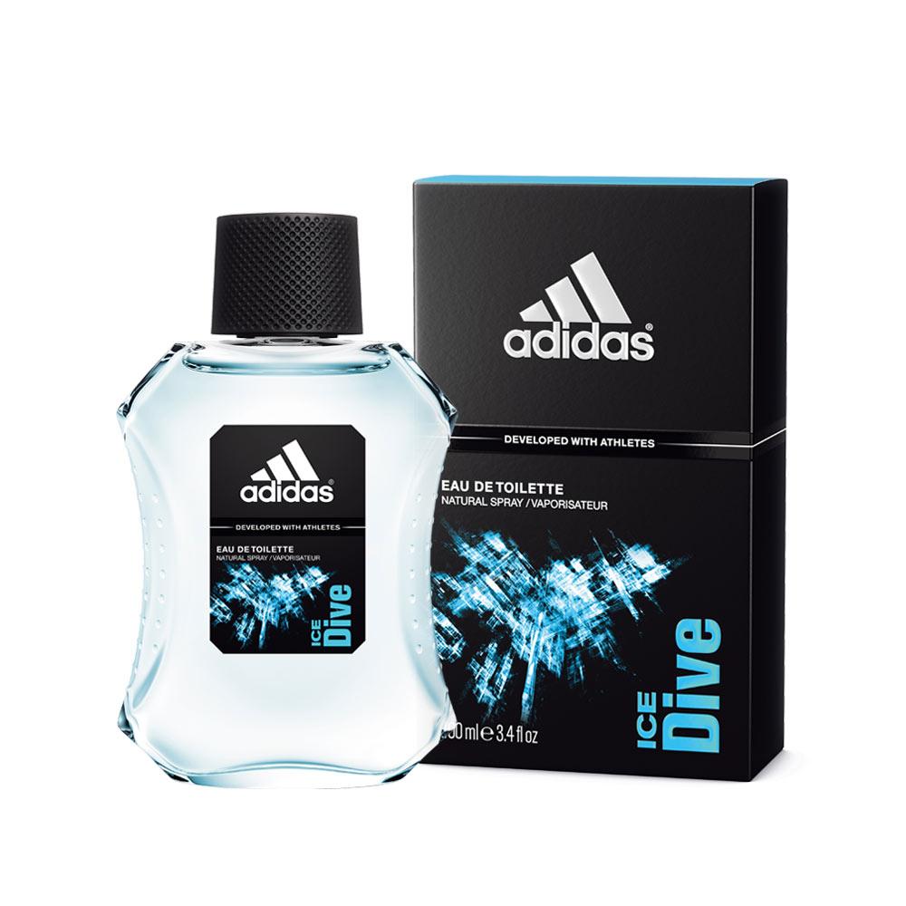 adidas愛迪達男用淡香水品味透涼100ml