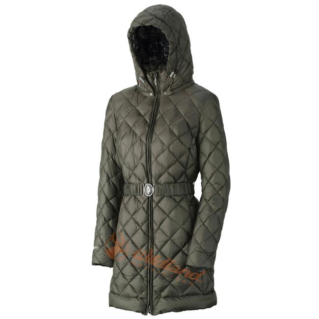 Wildland 荒野 0A32101-42可可綠 女 輕四層700FP中長羽絨衣