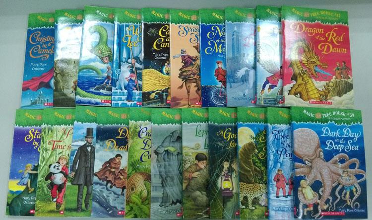 Magic Tree House神奇樹屋英文版第29-49集套書書CD