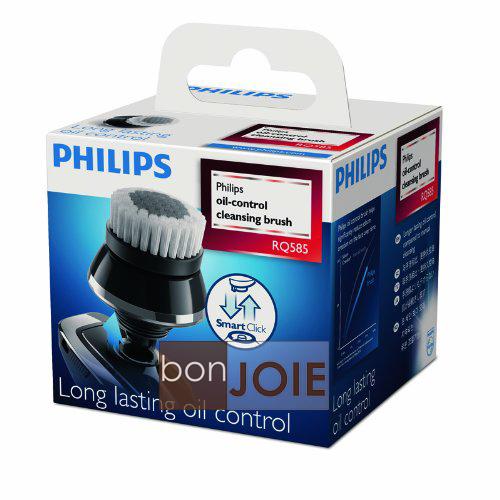 bonJOIE:日本進口飛利浦Philips RQ585 51潔面刷頭盒裝SmartClick控油清潔刷控油刷RQ-585 RQ585