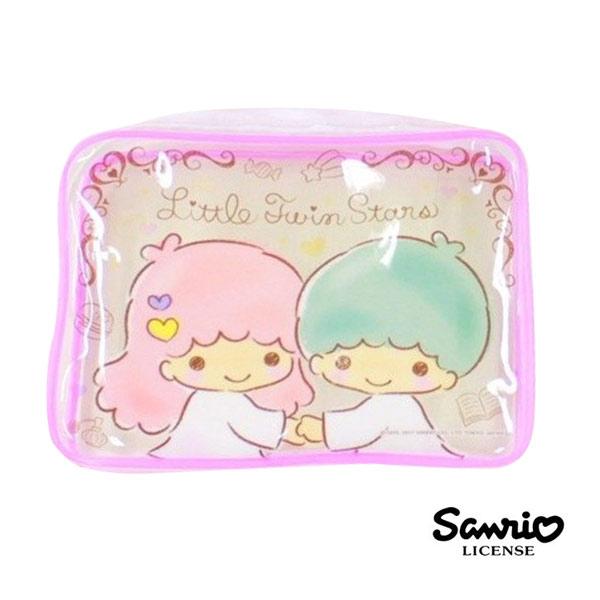 日本正版雙子星KIKILALA三麗鷗人物旅行用品組分裝瓶髮帶折梳旅行收納Sanrio 230868