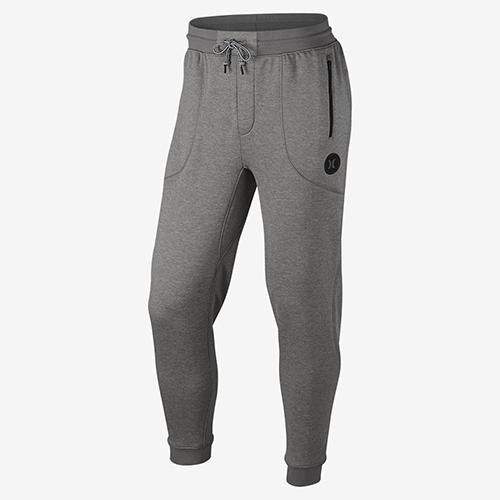 Hurley DRI-FIT DISPERSE PANT-DRI-FIT刷毛布休閒長褲-男灰