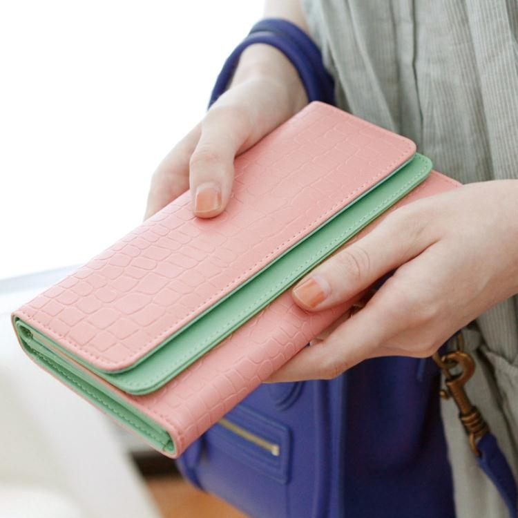 長夾-錢包錢夾女長款 日正韓學生時尚女士錢包錢夾 可愛女式皮夾錢夾【奇趣家具】
