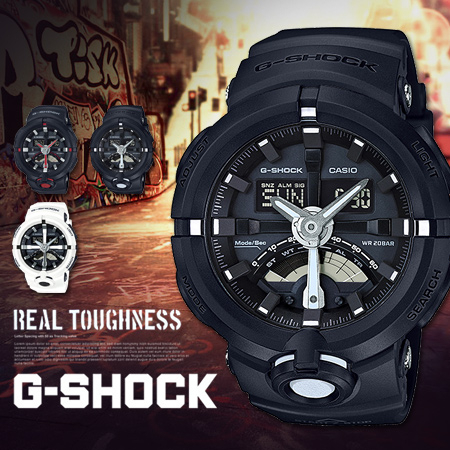 G-SHOCK GA-500-1A CASIO手錶GA-500-1ADR