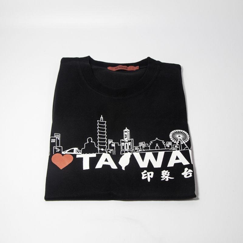 印象台灣T恤-S黑
