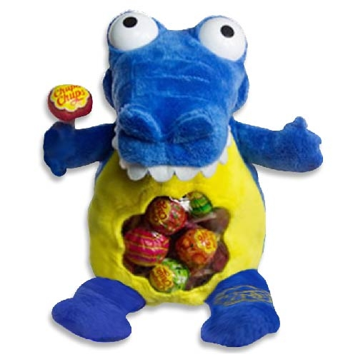 Chupa Chups超級好朋友背包綜合棒棒糖192g藍鱷