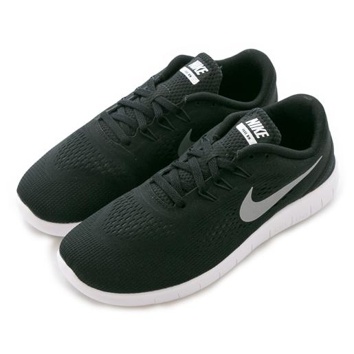 Nike耐吉NIKE FREE RN GS慢跑鞋833989001童女舒適運動休閒新款流行經典
