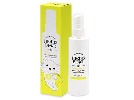 草本小熊天然檸檬桉油PMD防蚊液80ml