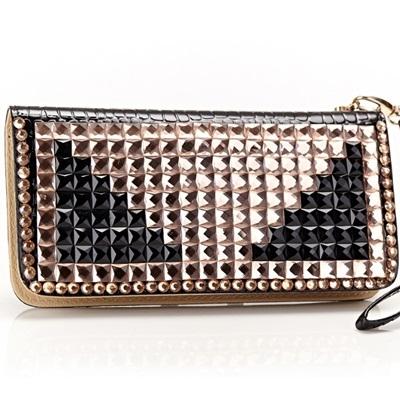皮夾長夾-滿鑽時尚奢華晚宴精緻女零錢包73eb73時尚巴黎