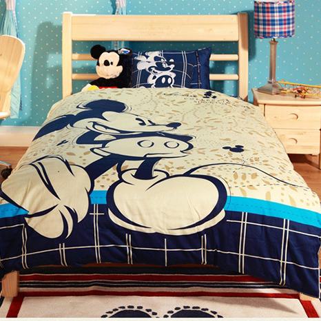 首雅傢俬單人床架芬蘭松木米奇4尺迪士尼家具單人床單人加大床架兒童床兒童家具