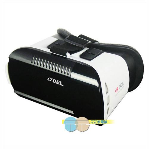 元元家電館~ODEL MR3 3D頭戴式立體眼鏡 VR虛擬眼鏡 立體眼鏡 頭戴式眼鏡 手機眼鏡 適用4.7-6吋手機