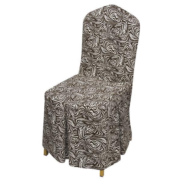 餐桌椅套 布藝椅套 連體椅套 椅墊 餐椅套定做 高密度純棉 -lu70