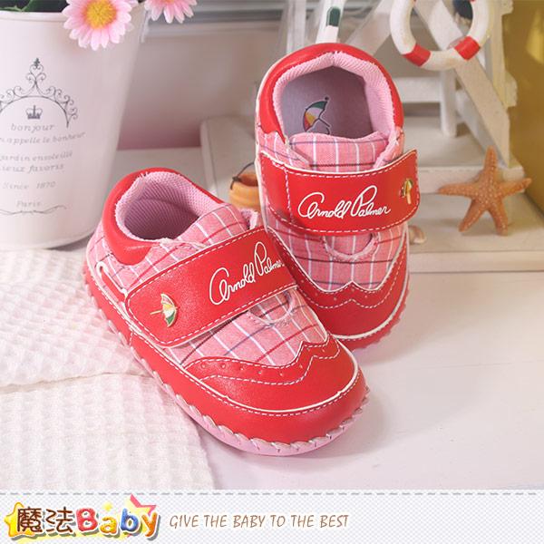 阿諾帕瑪專櫃款真皮中底女寶寶鞋 魔法Baby