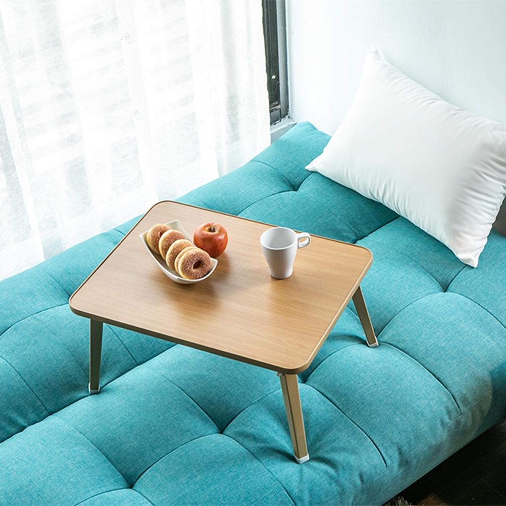 Dada簡約攜帶式床上電腦桌/摺疊桌/和室桌(免組裝) 二入組【obis】