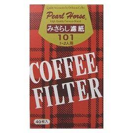 [奇奇文具] 【寶馬 Pearl Horse 咖啡濾紙】寶馬Pearl Horse 咖啡濾紙/咖啡濾網 #101 (1-2人份用)