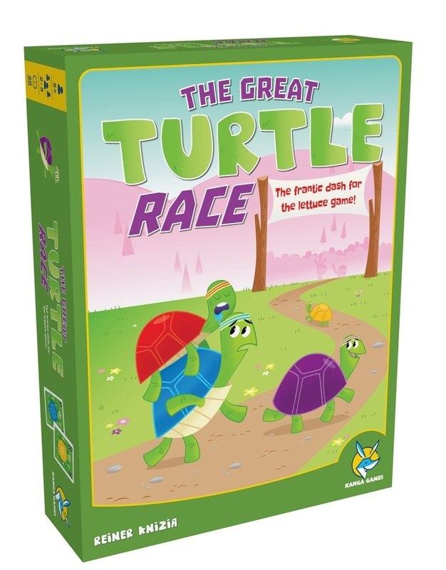 高雄龐奇桌遊跑跑龜The Great Turtle Race繁體中文版正版桌上遊戲專賣店