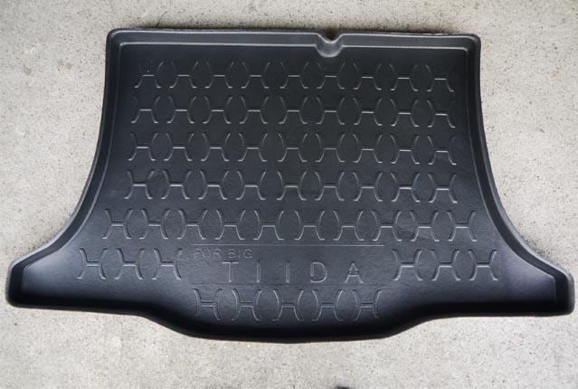 台灣製加高型日產NISSAN BIG TIIDA五門專用凹槽防水托盤防水墊防水防塵密合度高