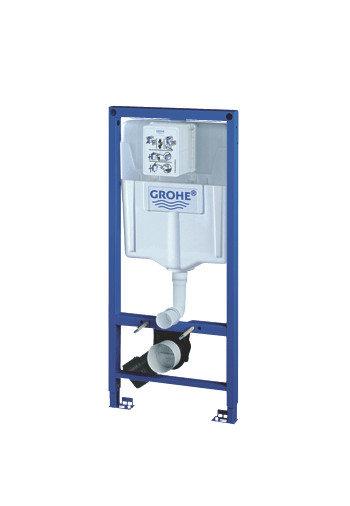 麗室衛浴德國GROHE埋壁式水箱38528輕隔間用含鐵架外蓋及按鈕
