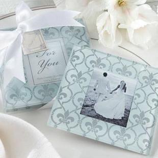 幸福回憶相框杯墊 (兩入裝) 婚禮小物 送客小禮 婚禮佈置/組