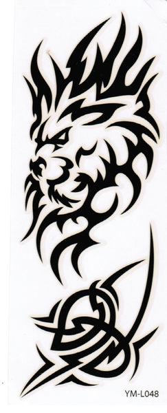 薇嘉雅夜光紋身貼紙L048