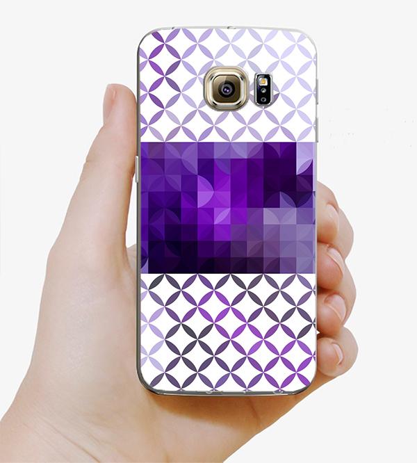 ♥ 俏魔女美人館 ♥Samsung Galaxy S7 {紫色夢幻*水晶硬殼} 手機殼 手機套 保護殼