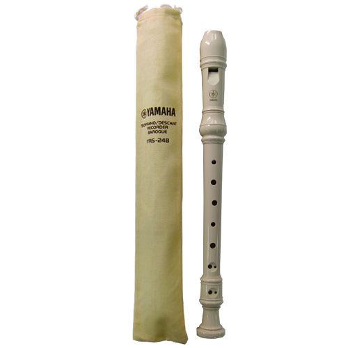 【YAMAHA】英式高音直笛(巴洛克式) YRS-24B
