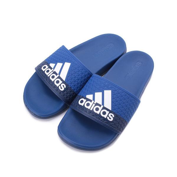 ADIDAS ADILETTE COMFORT K 套式拖鞋 藍 B43529 大童鞋 鞋全家福